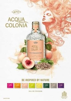 4711 Acqua Colonia Melocotón Blanco Y Cilantro 170ml Edc en internet