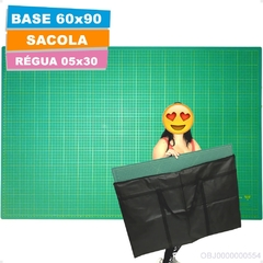 Base Corte A1 90x60cm Regua Laser 05x30 Patchwork Scrapbook