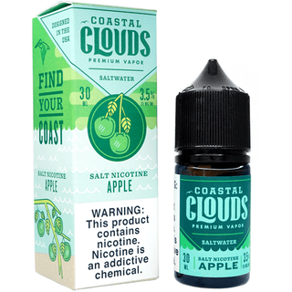 SaltNic - Coastal Clouds - Apple - 30ml
