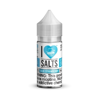 SaltNic - I Love Salts - Blue Strawberry (Pacific Passion) - 30ml