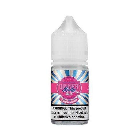 SaltNic - Dinner Lady- Strawberry Macaroon - 30ml