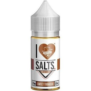 SaltNic - I Love Salts - Sweet Tobacco - 30ml