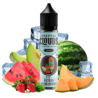 Juice - Coastal Clouds - Melon Berries Iced - 60ml