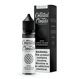 Juice - Coastal Clouds - Iced Apple Peach Strawberry - 60ml