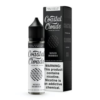 Juice - Coastal Clouds - Mixed Berries - 60ml