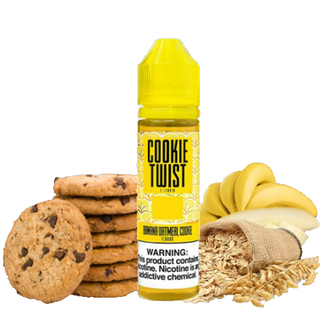 Juice - Twist - Banana Oatmeal Cookie (Banana Amber) - 60ml