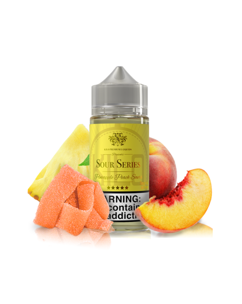 Juice - Kilo - Sour Series - Pineapple Peach (Bazooka) - 100ml