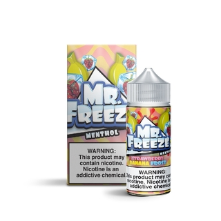 Juice - Mr. Freeze - Strawberry Banana Frost - 100ml