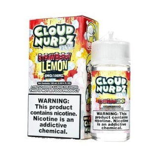 Juice - Cloud Nurdz - Strawberry Lemon Iced - 100ml