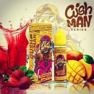Juice - Nasty  Cush Man - Mango Strawberry - 60ml