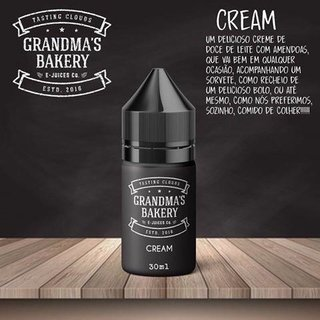 Juice - Grandma's Bakery - Cream - 30ml