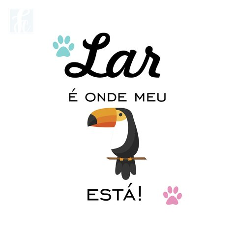 Placa Decorativa Pet - Tucano - comprar online