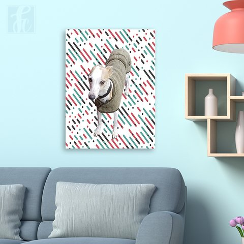 Placa Decor Pet Personalizada - Color Rain - comprar online