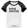 Camiseta Now United Pop Musica Raglan Manga Curta