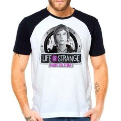 Camiseta Life Is Strange Before The Storm Raglan Manga Curta