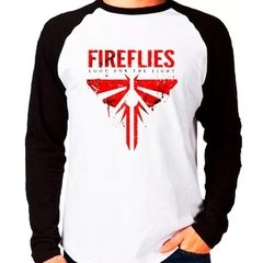 Camiseta The Last Of Us Fireflies Raglan Manga Longa