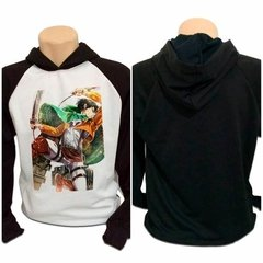Casaco Blusa Moletom Attack On Titan Shingeki Kyojin Levi V2