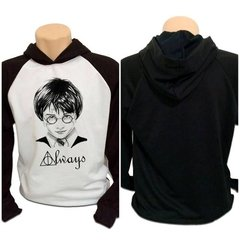 Casaco Blusa Moletom Harry Potter Always