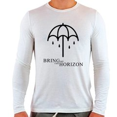 Camiseta Branca Longa Bring Me The Horizon Spirit