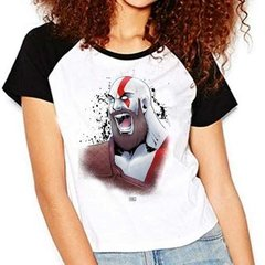 Camiseta God Of War 4 Kratos Ralgan Babylook