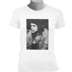 CAMISETA BABY LOOK DO CHE GUEVARA: INDIGNAÇÃO (FOTO)
