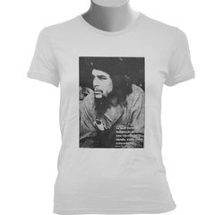 CAMISETA BABY LOOK DO CHE GUEVARA: INDIGNAÇÃO (FOTO) na internet