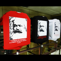 Imagem do CAMISETA UNISSEX KARL MARX: LUTA DE CLASSES