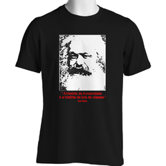 CAMISETA UNISSEX KARL MARX: LUTA DE CLASSES na internet