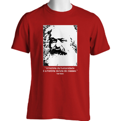 CAMISETA UNISSEX KARL MARX: LUTA DE CLASSES