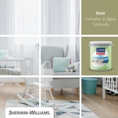 Esmalte al agua Kem Aqua Sherwin Williams Brillante en internet