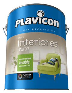 Latex Interior Plavicon Mate Lavable