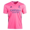 Camisa 2 Real Madrid Away 2020/2021 - Adulto Torcedor - Rosa Masculina