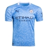 Camisa 1 Manchester City Home 2020/2021 - Adulto Torcedor - Azul Masculino