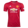 Camisa 1 Manchester United Home 2020/2021 - Adulto Torcedor - Masculina Vermelha