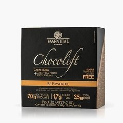 CHOCOLIFT BE POWERFUL BOX 480g - Box c/12 barras de 40g