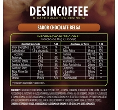 Desincoffee sabor Chocolate Belga 220g na internet