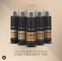 "IDRAET: PRO HYALURON FOUNDATION LIGHTWEIGHT HD BASE FLUIDA HD. tono: ""HFL15 Light Beige"" - comprar online"