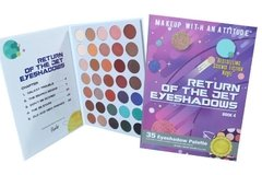 RUDE: Return Of The Jet Eyeshadows. BOOK 4. Paleta de 35 sombras - comprar online