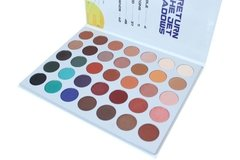 RUDE: Return Of The Jet Eyeshadows. BOOK 4. Paleta de 35 sombras