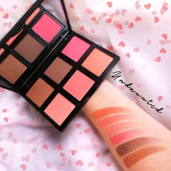 RUDE; Undaunted Blush Palette