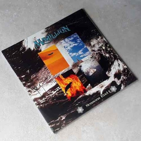 Vinil Lp Marillion Seasons End Gatefold Lacrado
