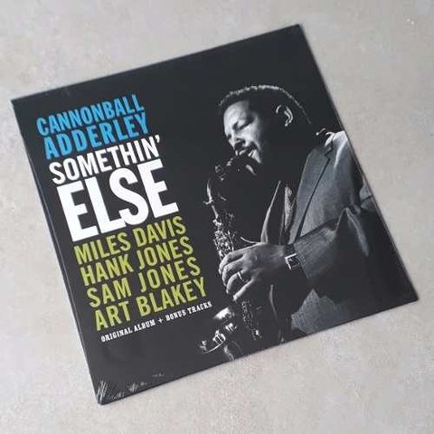 Vinil Lp Cannonball Adderley Somethin' Else Stereo Lacrado
