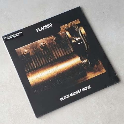 Vinil Lp Placebo Black Market Music Remast. 180g Lacrado