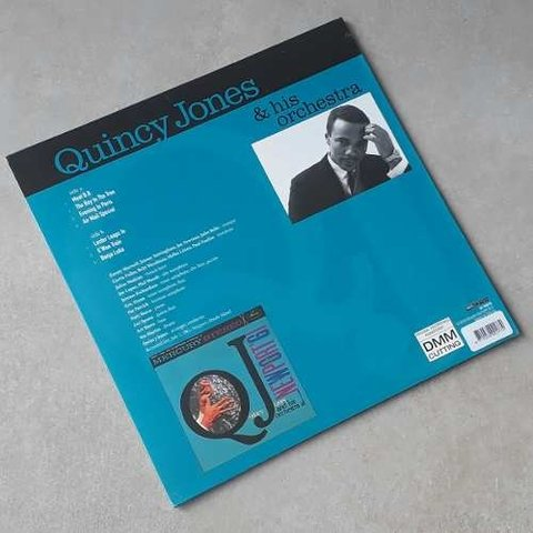 Vinil Lp Quincy Jones At Newport 61 Remasterizado Lacrado