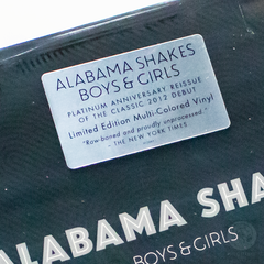 Vinil LP Alabama Shakes Boys & Girls Colorido Lacrado na internet