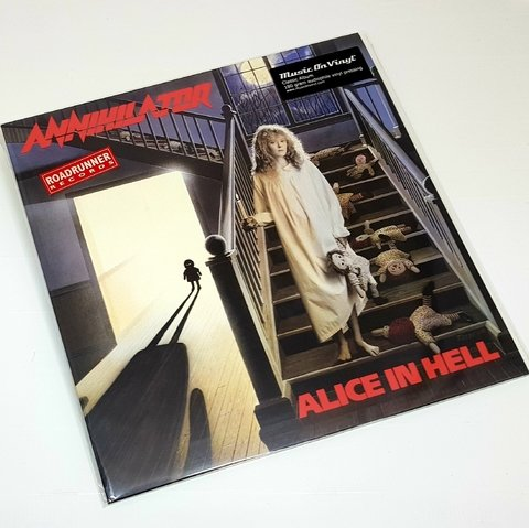 Vinil Lp Annihilator Alice In Hell 180g Lacrado
