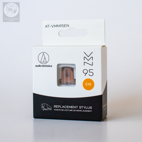 Agulha Audio Technica AT-VMN95en Laranja Elíptica Nude
