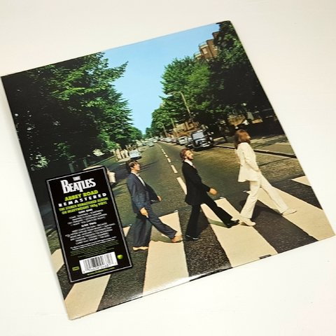 Vinil Lp Beatles Abbey Road Stereo 180g Lacrado