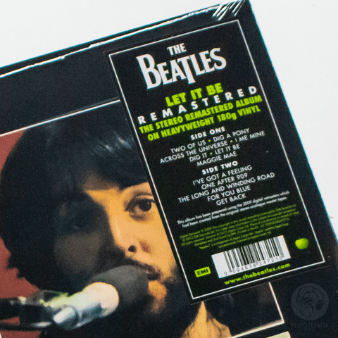 Vinil Lp Beatles Let It Be Stereo 180g Lacrado
