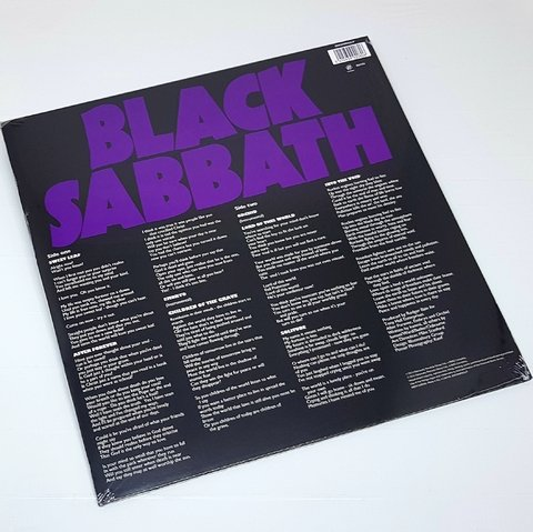 Vinil Lp Black Sabbath Master Of Reality Sanctuary Lacrado